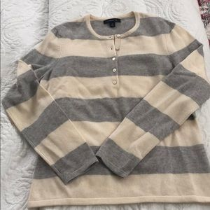 Lands end NWOT cashmere sweater size S